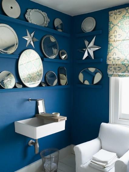 Decorar Un Baño Azul:Hermosos baños azules