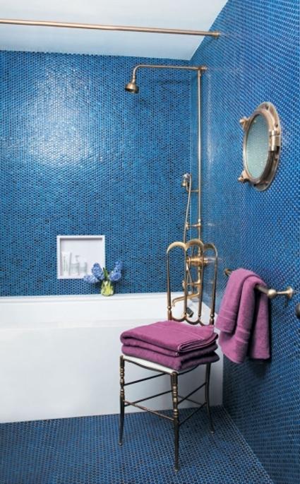 Baños Azules Pequenos:Baños azules