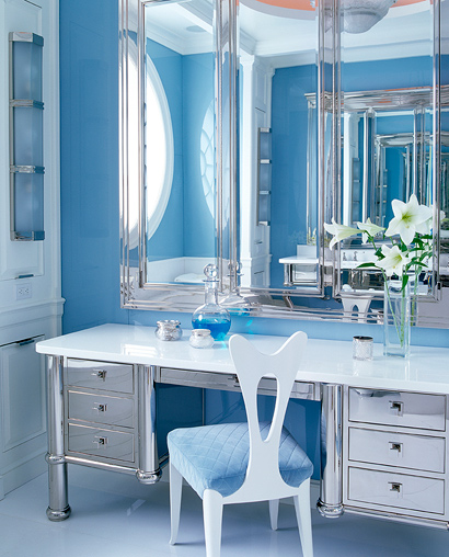 Baño Blanco Bizcocho:Blue Bathroom Design Ideas