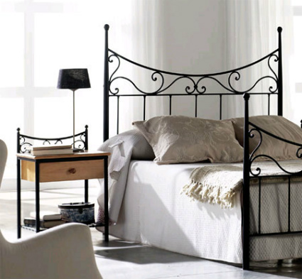 Cabeceros para camas matrimoniales decorando el hogar - Cabeceros hierro forjado ...