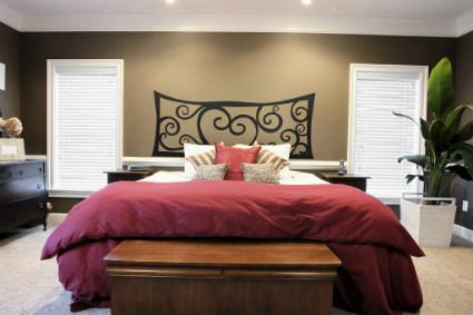 Cabeceros para camas matrimoniales decorando el hogar - Cabeceros de cama originales pintados ...