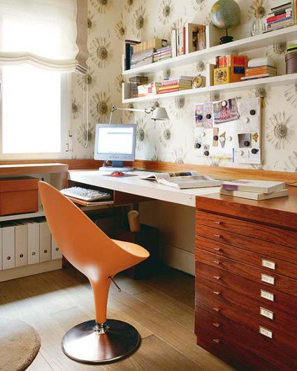 Decora tu oficina en casa decorando el hogar for Decora tu oficina