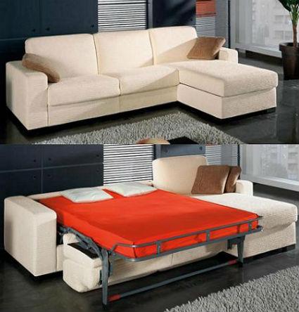 Sof s cama para todos los gustos decorando el hogar for Lo ultimo en sofas cama