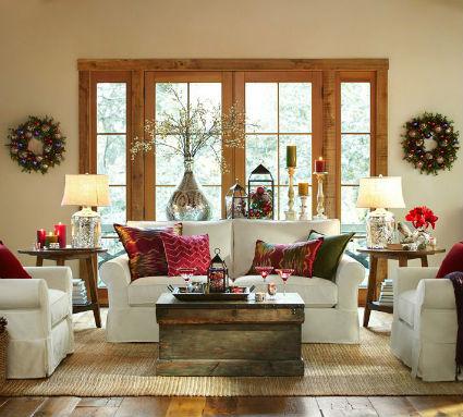 Una navidad muy elegante decorando el hogar for Mesa de navidad elegante