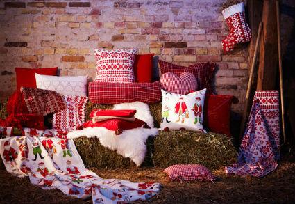 Textiles para decorar la navidad decorando el hogar - Ikea textil cama ...