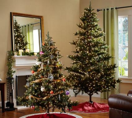 Una navidad muy elegante decorando el hogar - Arbol de navidad elegante ...