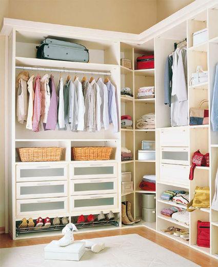 Todo hogar 4 consejos para organizar tu cl set - Organizacion de armarios ...