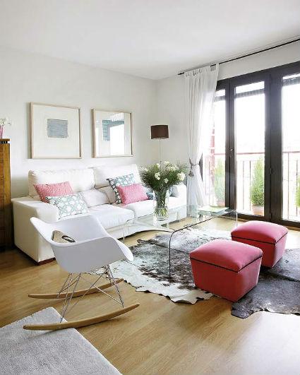 Mecedoras con mucho estilo decorando el hogar for Decoracion piso montana