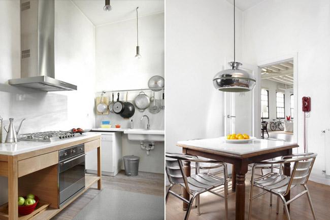 Decoracion industrial cocina for Cocina industrial hogar