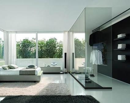 Paredes de cristal en toda la casa decorando el hogar - Pared cristal ...