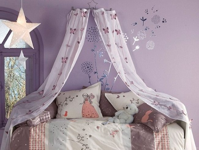 Camas infantiles con dosel un acierto o un garrafal - Como hacer un pabellon para cama ...