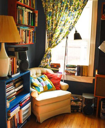 Rincones de lectura con mucho encanto decorando el hogar for Rincon lectura