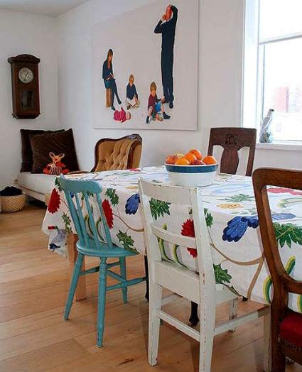 Ideas para comedores informales decorando el hogar - Ideas para comedores ...