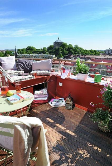 Decoraci n de terrazas y balcones decorando el hogar - Terrazas y balcones ...