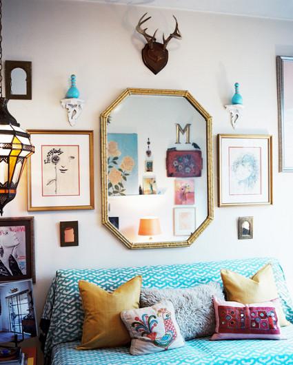 3 ideas para decorar tus paredes decorando el hogar for Decorar paredes living