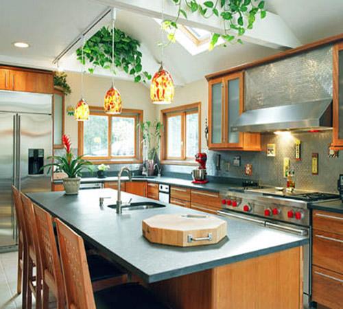 No podemos olvidar la cocina decorando el hogar for Planos de cocinas feng shui