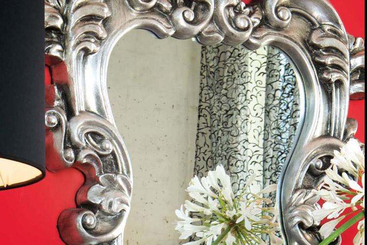 Lo chic del vintage decorando el hogar for Espejos decorativos vintage