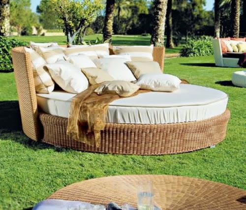 Consejos para cuidar los muebles exteriores for Sofas de ratan para jardin