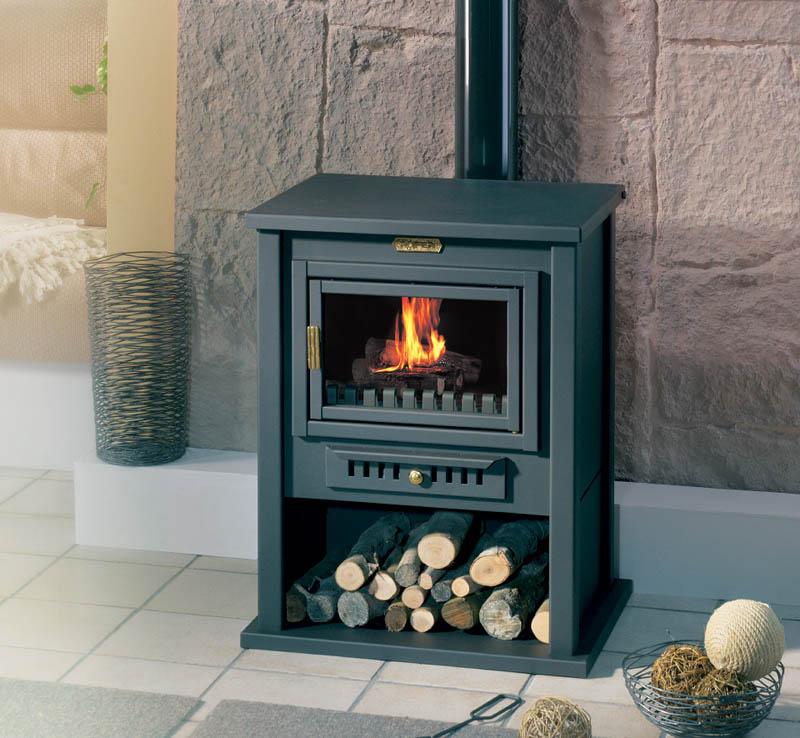 Arreglar el cristal de tu estufa o chimenea decorando el - Poner chimenea piso ...