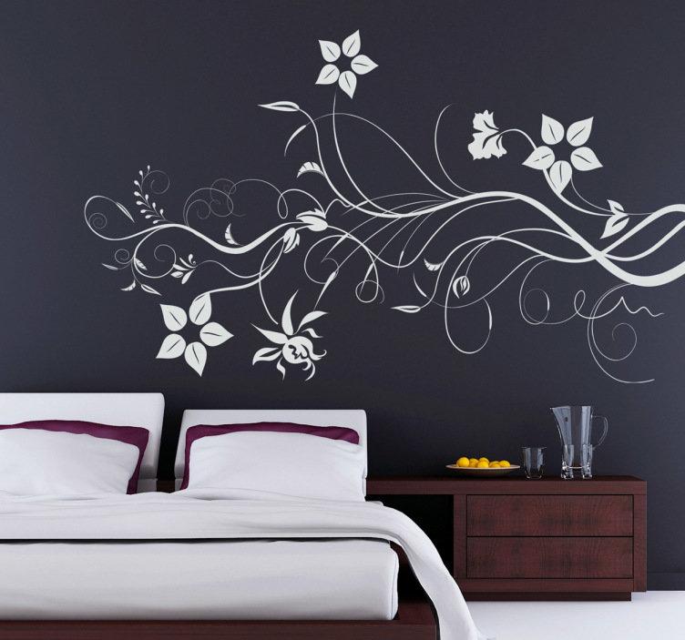 Poner un vinilo decorativo para pared y que quede bien - Vinilos decorativos para paredes exteriores ...